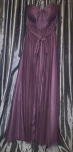 BHLDN Soft Plum Polyester Annabelle By Jenny Yoo - #30436174 Feminine Bridesmaid/Mob Dress Size 4 (S)