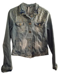 Romeo & Juliet Couture Light Blue Denim Jacket