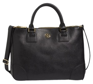 Tory Burch Tote in black/ gold