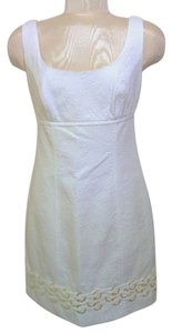 Laundry short dress White on Tradesy