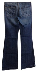 Citizens of Humanity Trouser/Wide Leg Jeans-Distressed