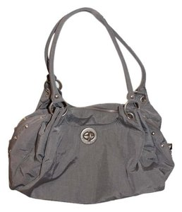Baggallini Studded Tote in grey