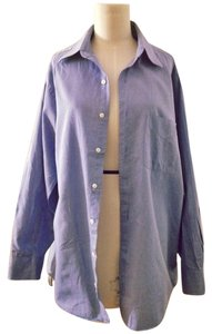 Geoffrey Beene Button Down Shirt Button Down Shirt Blue