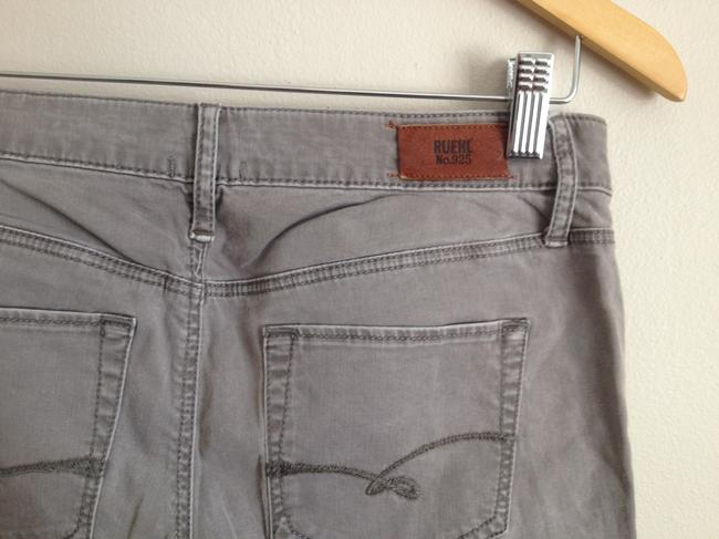 Ruehl No.925 Skinny Pants Grey Plum