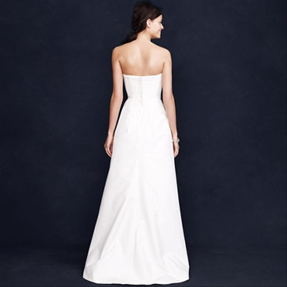 J crew miranda gown number 75617 wedding dress tradesy for J crew wedding dresses