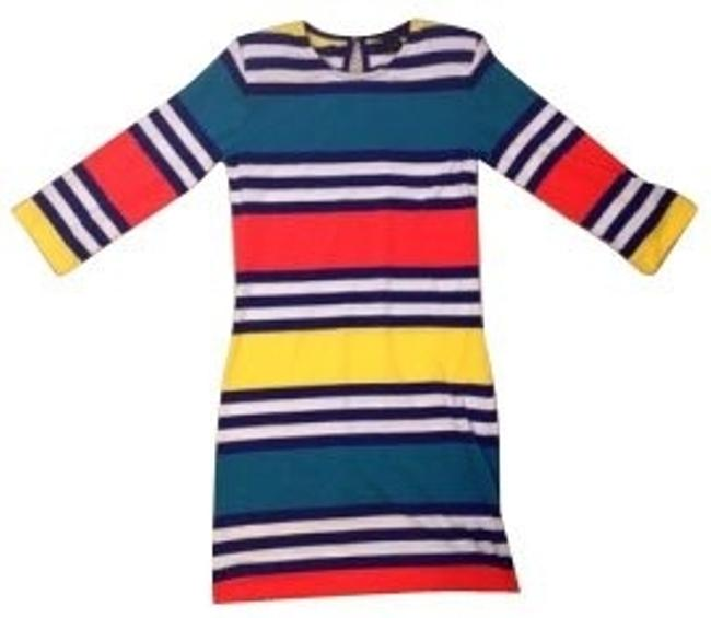Preload https://item5.tradesy.com/images/french-connection-blueredwhiteyellow-short-casual-dress-size-8-m-769-0-0.jpg?width=400&height=650