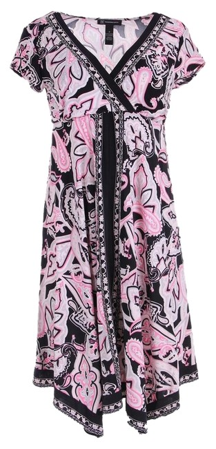 Preload https://img-static.tradesy.com/item/7690081/inc-international-concepts-pink-black-style-number-48525bl899-above-knee-short-casual-dress-size-4-s-0-1-650-650.jpg