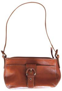 Etienne Aigner Leather Buckle Shoulder Bag