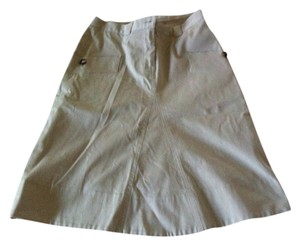 Burberry Skirt Khaki