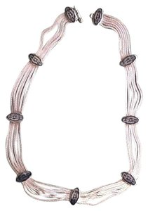 Other Six Strand Silver Necklace