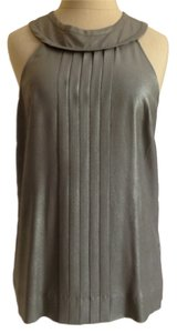 J.Crew Top Metallic pewter