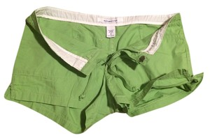 Abercrombie & Fitch Bright Mini/Short Shorts Green