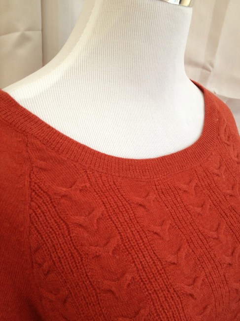 Bird Cable Knit Wool Sweater