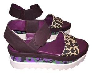 Stella McCartney Shoe Sandal Exclusive Purple Purple, green Platforms