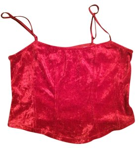 Victoria's Secret Paris Cami Top Red