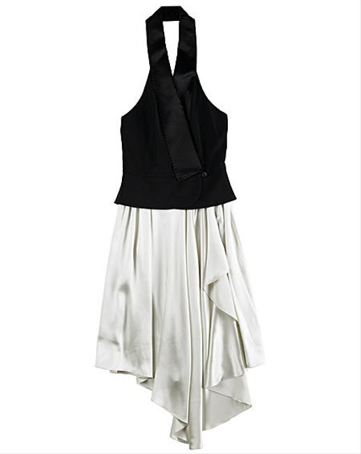 Alexander Wang Halter Vest New York Satin Silk Runway Dress