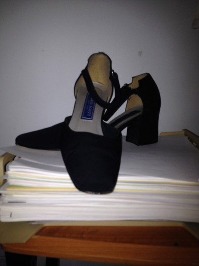 Karen Scott Own Celebrity Well Worn Stunning Deal Comfortable Blue Pumps