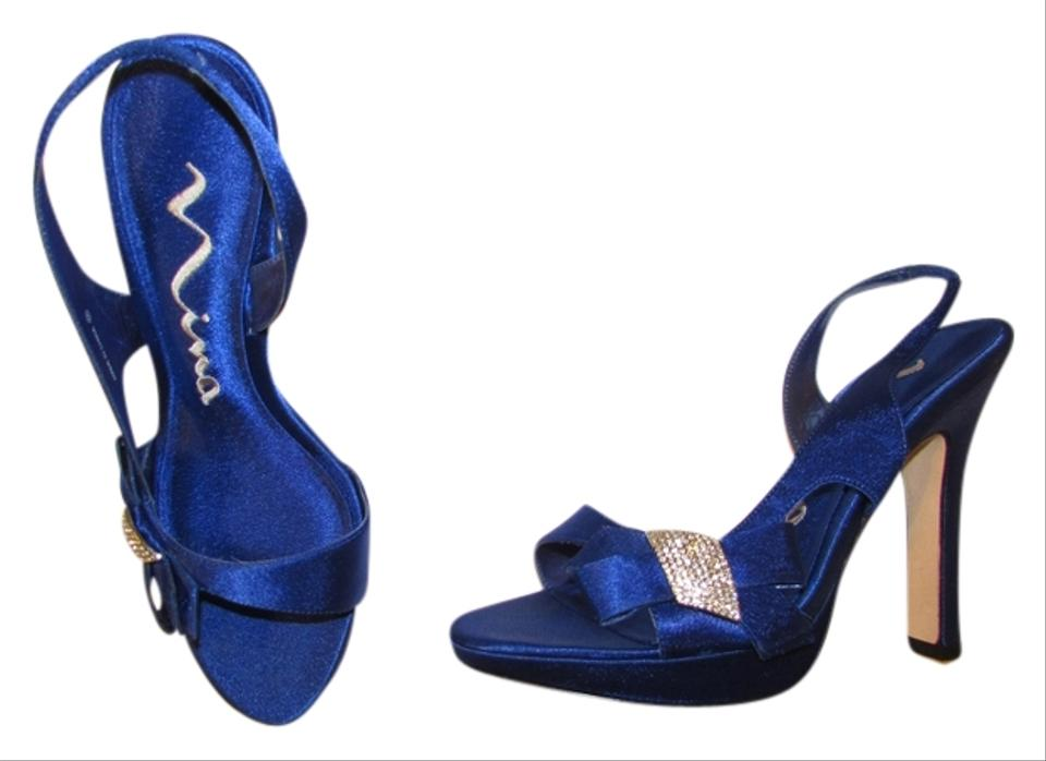shoes royal blue formal lilith size 7 5 43