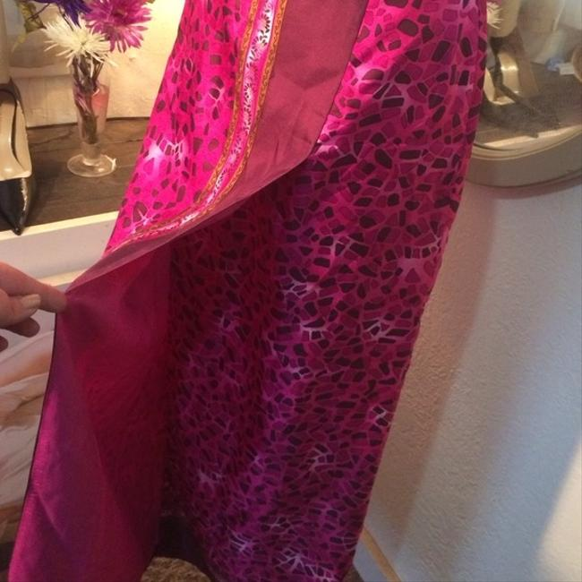 Other Nwot Silk Silk Size 12 Size Large Silk Maxi Free Shipping Skirt purples