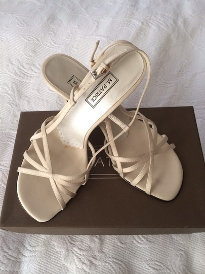 Strappy Satin Wedding Shoes