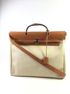 Hermès Satchel in Beige