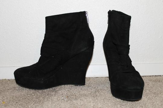 Boutique 9 Platform Suede black Boots