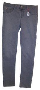 A.N.A. Jeans Straight Leg Jeans-Medium Wash