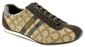 Coach Sneakers New Comfortable Brown Athletic