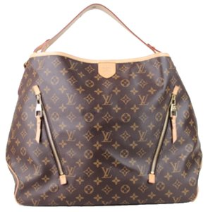 Louis Vuitton Delightful Gm Neverfull Tote in Brown