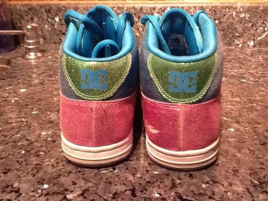 DC Shoes Multicolor Pink Blue Green Athletic