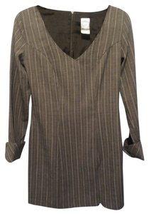 Frederick's of Hollywood short dress grey with stripe on Tradesy