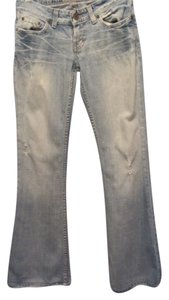 BKE Flare Leg Jeans-Distressed