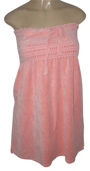Preload https://img-static.tradesy.com/item/7702651/juicy-couture-pink-terry-cotton-tunic-size-12-l-0-0-650-650.jpg