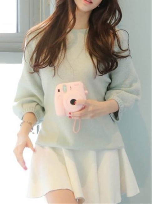 Other Green Light Cute Asian Style Sweater