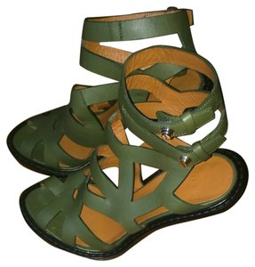 Givenchy green Sandals