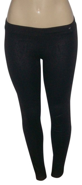 Item - Black New Without Tags Snakeskin Print Stretch Leggings Size 4 (S, 27)