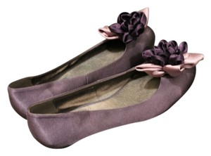 Unknown Silk Fun Purple Flats