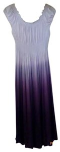 Alfani short dress Shades of Eggplant on Tradesy