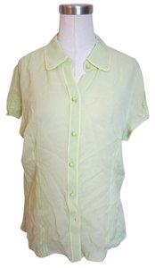Ann Taylor Top Pale Green