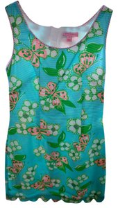 Lilly Pulitzer short dress Blue, pink on Tradesy