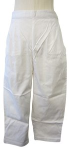 Storm Capri/Cropped Pants White