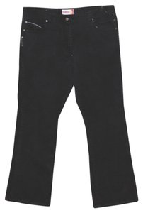 DeMona Boot Cut Jeans-Dark Rinse