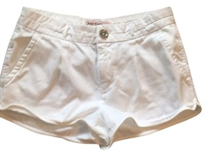 Juicy Couture Mini/Short Shorts White