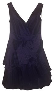 Max and Cleo Taffeta Pleated Classic Dress