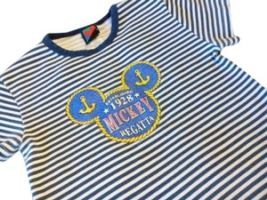 Mickey Unlinited Top Blue and White / with Logo /1928 Mickey Regatta