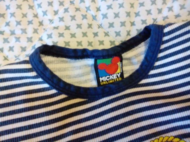 Mickey Unlinited Top Blue and White / with Logo /1928 Mickey Regatta Image 4
