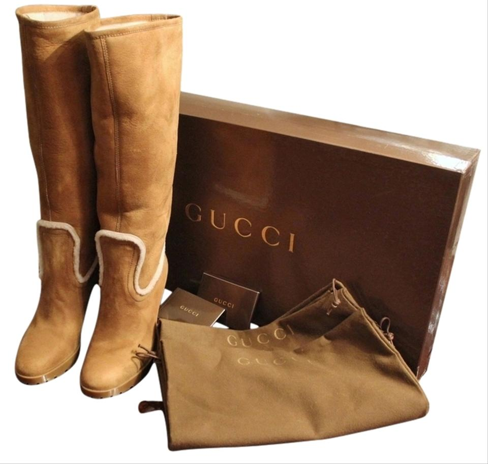 ef86bf1d Gucci Box New Tom Ford Era Shearling Suede with Cards Boots/Booties Size US  8.5 Regular (M, B) 56% off retail