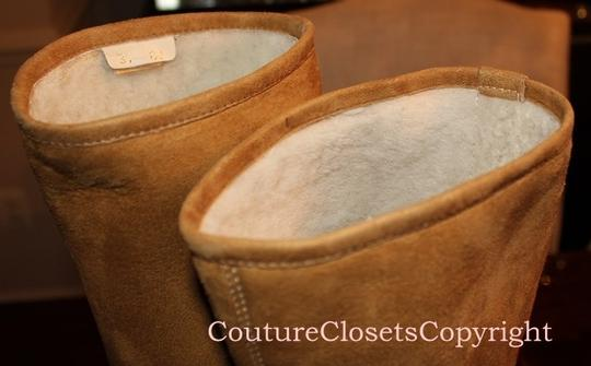 Gucci Shearling Boots