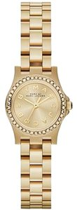 Marc Jacobs Marc by Marc Jacobs MBM3277 Women's Henry Dinky Glitz Gold Tone Stainless Steel Watch