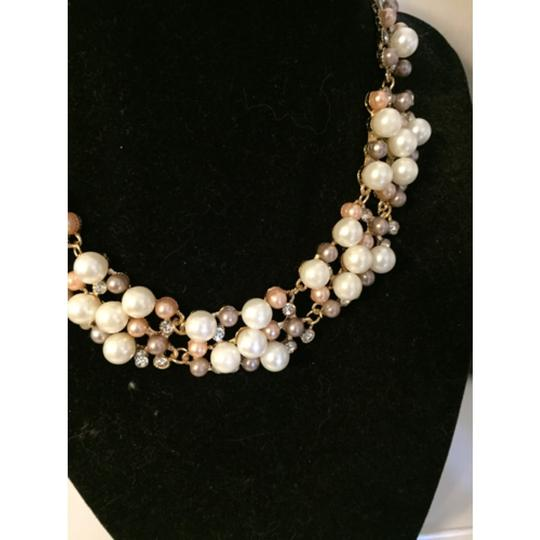 Betsey Johnson Pink & White Necklace